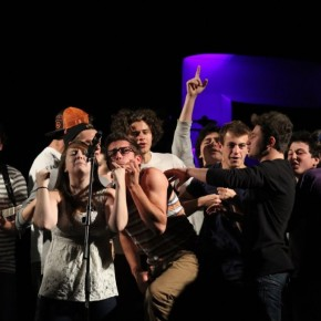 Students contribute to the chaos at fall concert