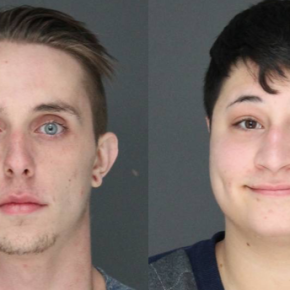 Police charge two people with burglarizing a Northvale house