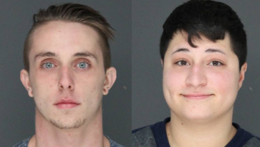 Bryan Pollard, 20, of Park Ridge (left) and Brianne M. Oliveira, 20, of New City, N.Y. (right) were each charged with one count of burglary in the third degree and one count of theft.