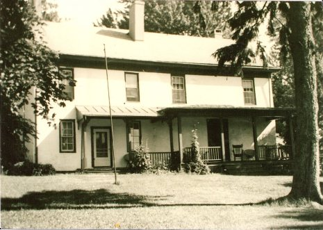 Green Farmhouse circa 1960. (Photo courtesy of The Friends of the William Green Farmhouse)