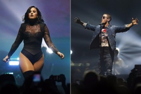 Demi Lovato sings circles around Nick Jonas at Newark concert