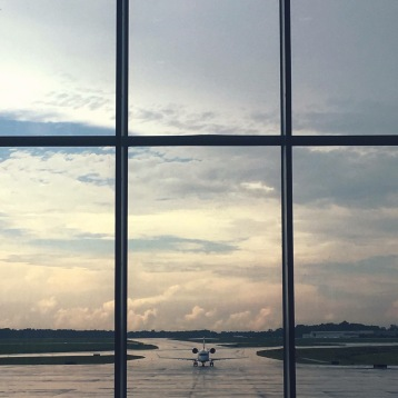 Charleston International Airport. July 2017.